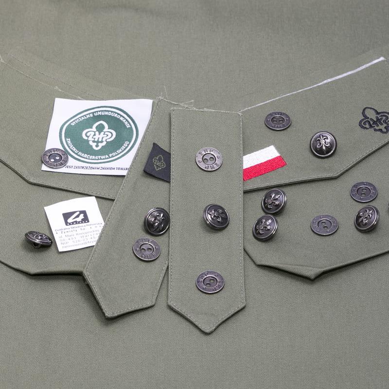 0bd82985d41b79 Zestaw do uszycia koszuli mundurowej męskiej Centralna Składnica ...
