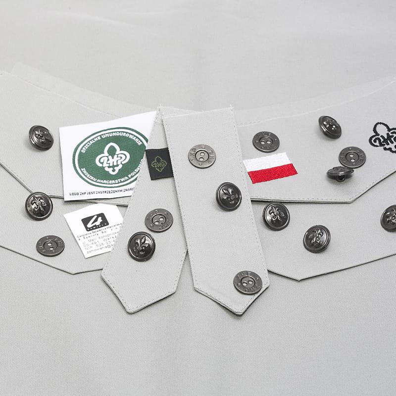 808c6aae54a47f Zestaw do uszycia koszuli mundurowej damskiej Centralna Składnica ...
